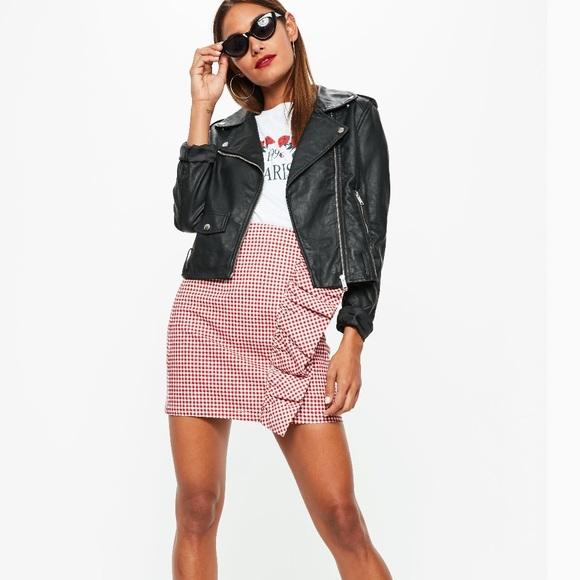2ea5a1d973 NWT red gingham ruffle mini skirt. NWT. Missguided.  M_5c7af8d3fe515147bd832d56. M_5c7af8d5d6dc527a03fa4360.  M_5c7af8d6fe51514469832d84